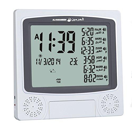 Alarm Clock With Large Display Desktop Wall Mount 4010 ()