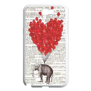 Elephant on Dictionary ZLB522141 Unique Design Case for Samsung Galaxy Note 2 N7100, Samsung Galaxy Note 2 N7100 Case