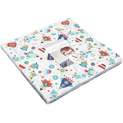 Sweet Cakes Baby (Abi Hall Stellar Baby Layer Cake 42 10-inch Squares Moda Fabrics 35320LC)