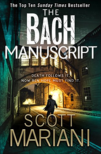 The Bach Manuscript (Ben Hope, Book 16) cover