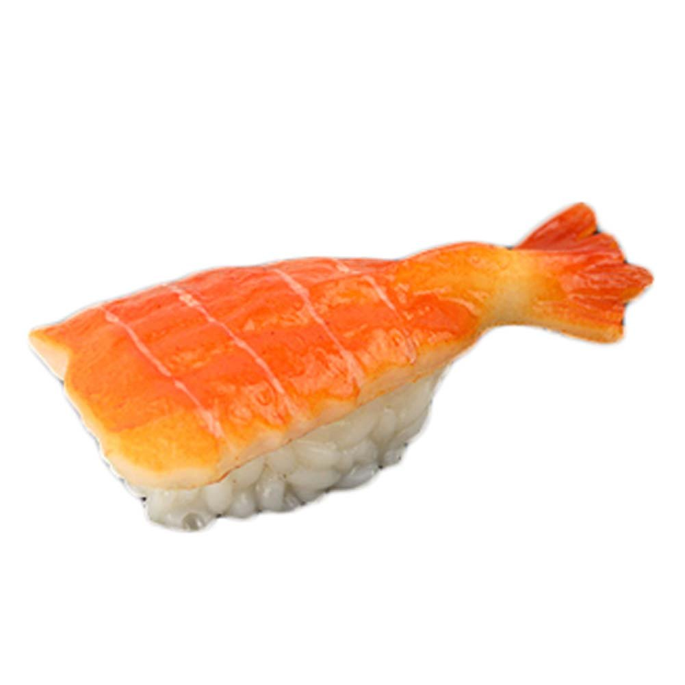 George Jimmy 2 PCS Simulation Sushi Food Model Sushi Cooking Window Display Props #14