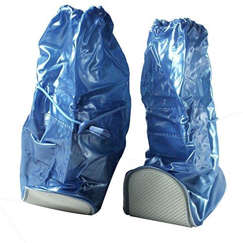 niceeshop(TM) Cubierta Funda de Bota Zapatos de Lluvia Protectora Ajustable Impermeable Antideslizante( Color al Azar, Tamaño XL) Aleatorio