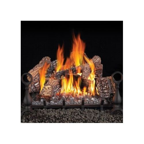 vented propane log set amazon com