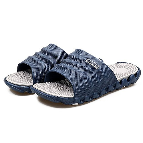 Summer Gray Flip Slippers Massage Flop Men Soft Beach for vvRqrwC8