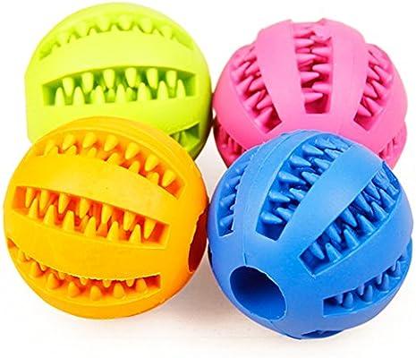 Rrunzfon Bola de Limpieza de Dientes Juguetes para Perros Mascotas ...