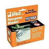 Emergency SPACE Blanket - Silver- 24 ct.
