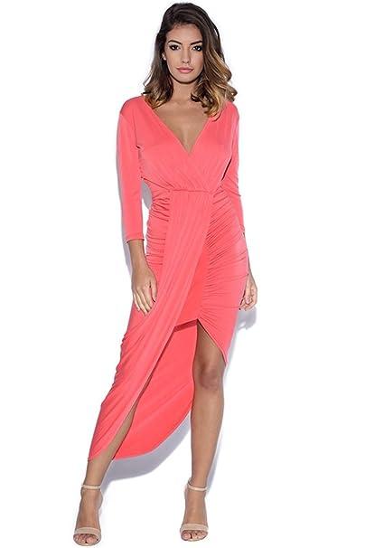 Drape Midi Dress