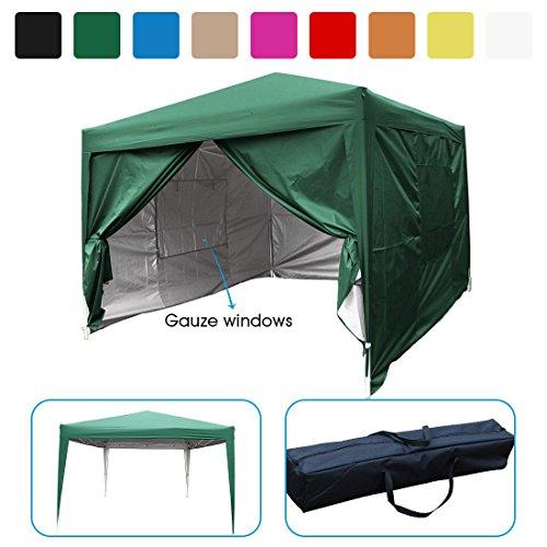 Outdoor Quictent privacy 10x10 Mesh Curtain EZ Pop Up Par...