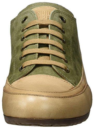 Camoscio Cooper Femme Vert Basses kaki Candice q0O55