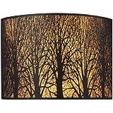 Elk 31070/2 Woodland Sunrise 2-Light Sconce In Aged Bronze