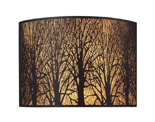 Elk 31070/2 Woodland Sunrise 2-Light Sconce In Aged Bronze by ELK
