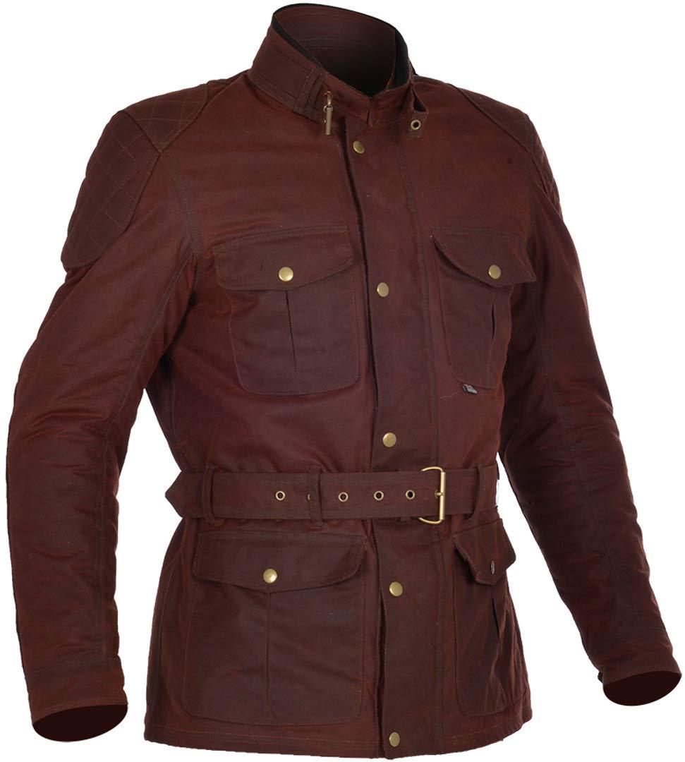 Rifle gr/ün 2XL Ochsenblut rot Oxford Bradwell Herren gewachst wasserdicht Motorrad Jacke