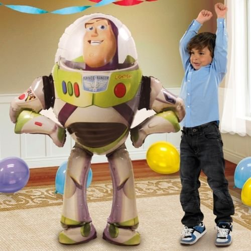Disney Toy Story Birthday Party Balloon 53 Inches Foil Balloon Air Walker by Nick's by Nick 90's