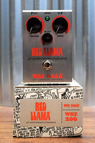 Way Huge Red Llama 25th Anniversary Overdrive Pedal