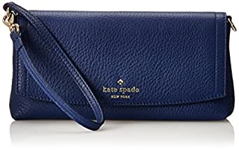 kate spade new york Cobble Hill Niccola Leather Magnetic Wallet,Laguna,One Size