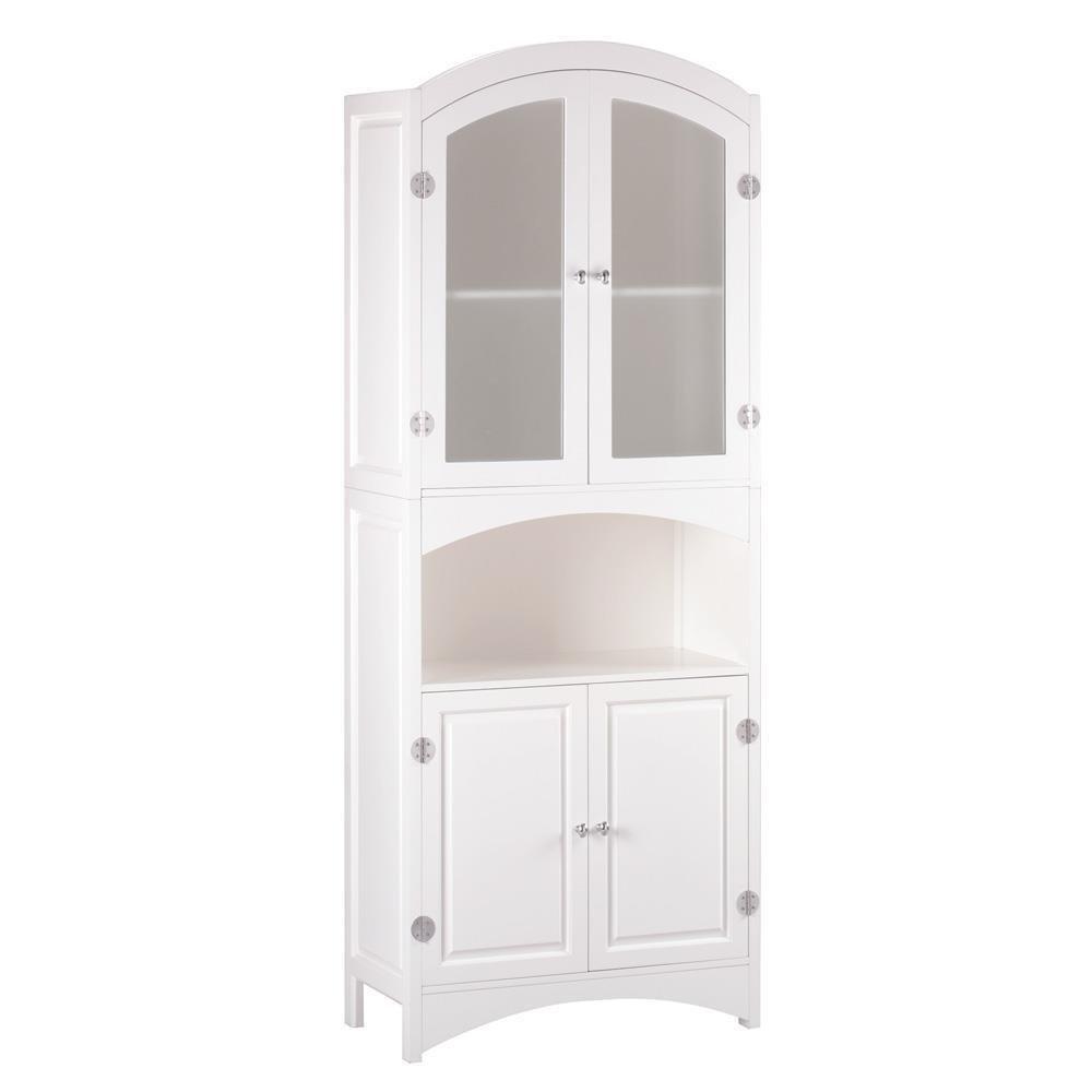 Wood Linen Cabinet