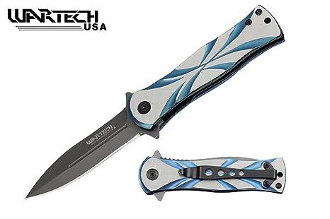 Amazon.com: Wartech - Cuchillo abierto de acero inoxidable ...