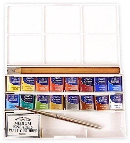 Winsor & Newton Cotman Water Colour Deluxe Sketchers' Pocket Box 1 pcs sku# 1841345MA ()