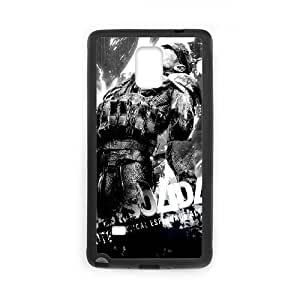 Metal Gear Solid 4 Guns Of The Patriots Funda Samsung Galaxy Note 4 Funda caja del teléfono celular Negro S0I8HI Hard Durable Phone Case