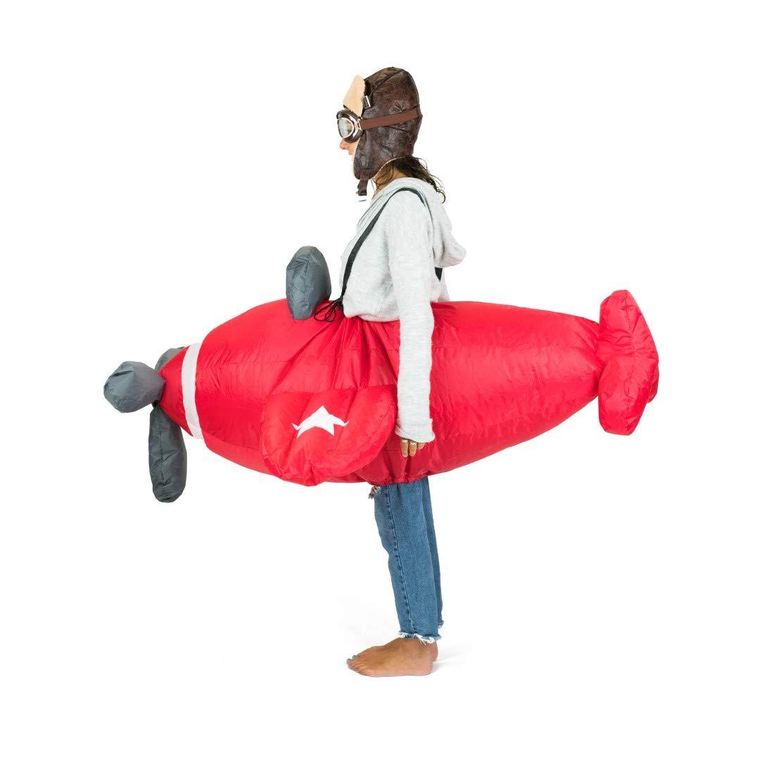 Bodysocks® Disfraz Hinchable de Aeroplano Adulto: Amazon.es ...