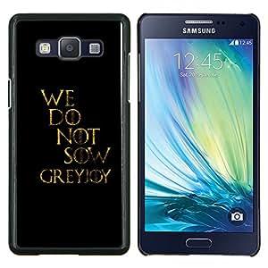 LECELL--Funda protectora / Cubierta / Piel For Samsung Galaxy A5 A5000 -- No sembramos --