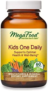 MegaFood Kid's One Daily, Tablets--60 ea