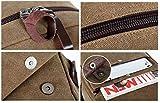 Gumstyle Detective Conan Case Closed Vintage Canvas Book Bag Laptop Backpack Casual School Bag