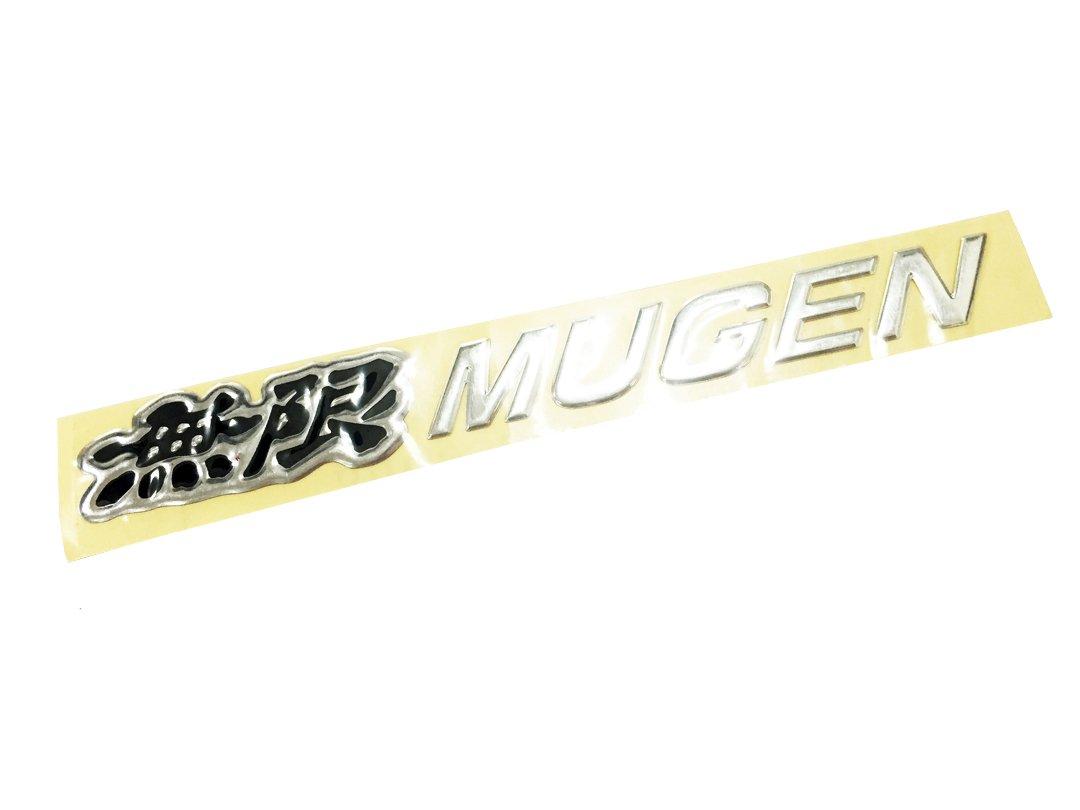 Dian Bin The Black Mugen Epoxy 2 pcs Sticker Vehicle-logo Badge Car Emblem for Honda Available