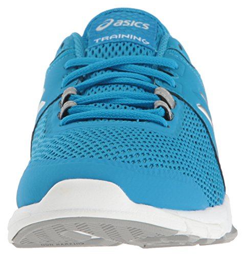 ASICS Women's Gel-Craze TR 4 Cross-Trainer Shoe, Diva Blue/Silver/White, 5 M US