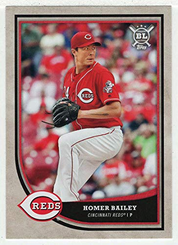 Homer Bailey (Baseball Card) 2018 Topps Big League # 298 NM/MT