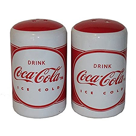 Coca-Cola Salt and Pepper Shakers by Gibson