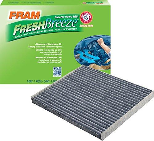 FRAM CF11184 Fresh Breeze Cabin Air Filter with Arm & Hammer