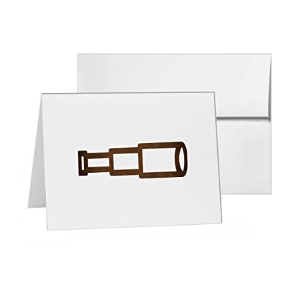 amazon com spyglass looking glass nautica nautical blank card