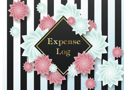 Expense Log Book: 6 Column Payment Tracker Portable Size 8.25x6