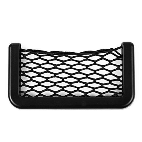 Car Storage Net Bag Car Seat Side Phone Holder Organizer Min