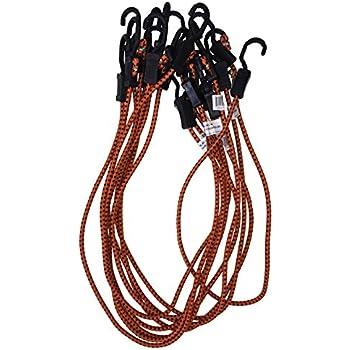 Kotap Adjustable 48-Inch Bungee Cords, 10-Piece, Item: MABC-48