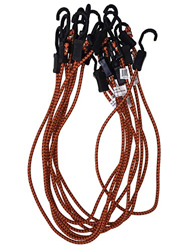 Kotap Adjustable 48-Inch Bungee Cords, 10-Piece, Item: - Large Bungee