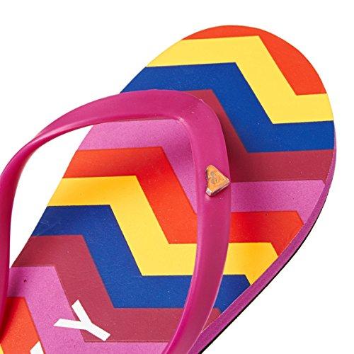 Roxy Bamboo Flip Flops - Purple