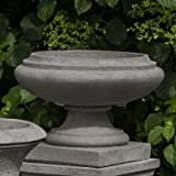 Round Urn Planter Finish: Natural