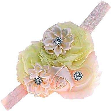 Baby Girl Toddler Elastic Flower Floral Headband Hairband Headwear Accessories