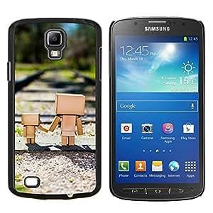 EJOOY---Cubierta de la caja de protección para la piel dura ** Samsung Galaxy S4 Active i9295 ** --Soldaty oruzhie armiya