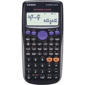 FX-82DE Plus - Wissenschaftlicher Taschenrechner - 10 Stellen + 2 Exponenten