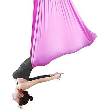 SL de ybb Aerial Yoga Hamaca Casa principiantes Hängende Training ...