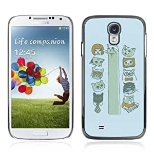 YOYOSHOP [Funny MEME CAT*s LOL KEYBOARD LONG] Samsung Galaxy S4 Case