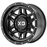 XD ATV XS228 MACHETE Satin Black Wheel Chromium (hexavalent compounds) (14 x 10. inches /4 x 132 mm, 0 mm Offset)