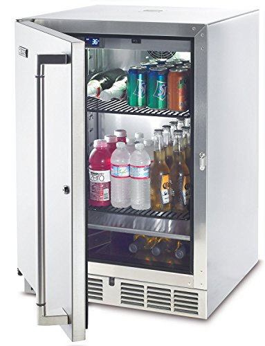 Lynx Stainless Steel Outdoor Refrigerator / Kegerator, 24-Inch by Lynx
