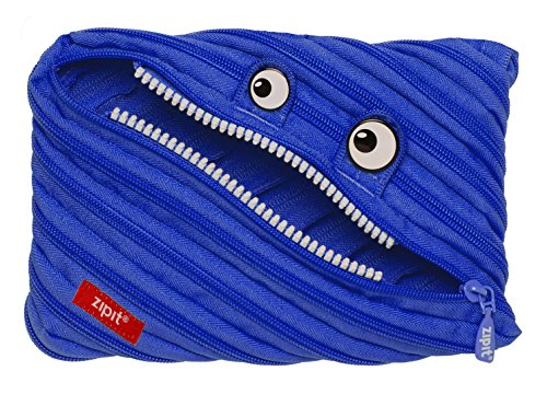 ZIPIT Monster Big Pencil Case, Royal Blue