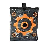 OWIKAR Target Pouch Storage Bag, CloverTale Target Carry Equipment Bag for Nerf Guns Darts N-strike Elite / Mega / Rival Series