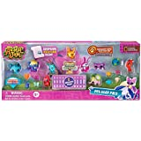 Animal Jam Pet Stop Pals with EXCLUSIVE Gold Bunny and 2 Mystery Pets Adopt a Pet Set