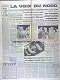 VOIX DU NORD (LA) du 09/08/1950 - QUAND LE RIDEAU DE FER EST TOMBE PAR GIRON - A L'ASSEMBLEE EUROPEENNE DE STRASBOURG - PLAN SCHUMAN - LA DACTYLO AMERICAINE FLORENCE CHADWICK A TRAVERSEE LA MANCHE EN 13H23 - COREE - LES TROUPES AMERICAINES MENACEES D'ENCERCLEMENT - ARSENE LUPIN CONTINUE - VOL A CANNES